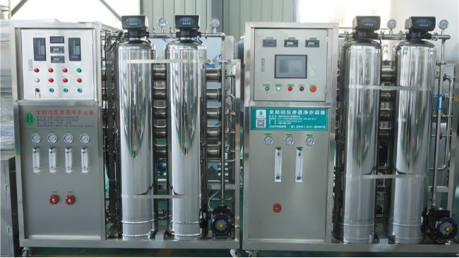 口罩生产用的纯化水输送分配系统的方式