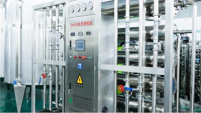 5吨大型工业反渗透纯净水成套设备有哪些