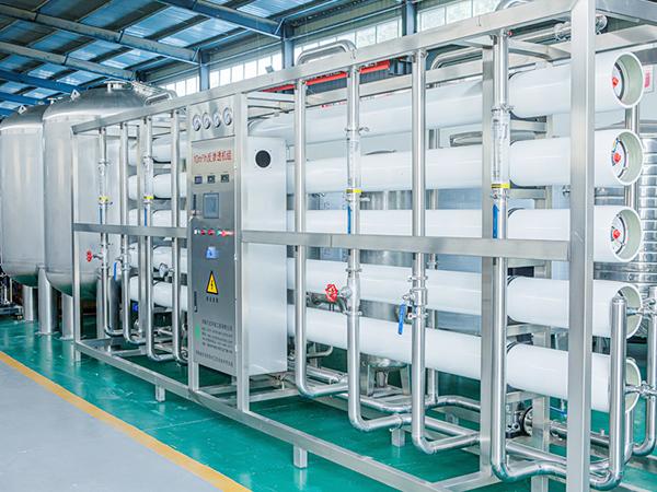 河南望圆饮品生产净水项目