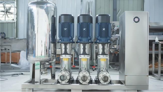 水处理设备系统水泵常见故障及日常保养方法