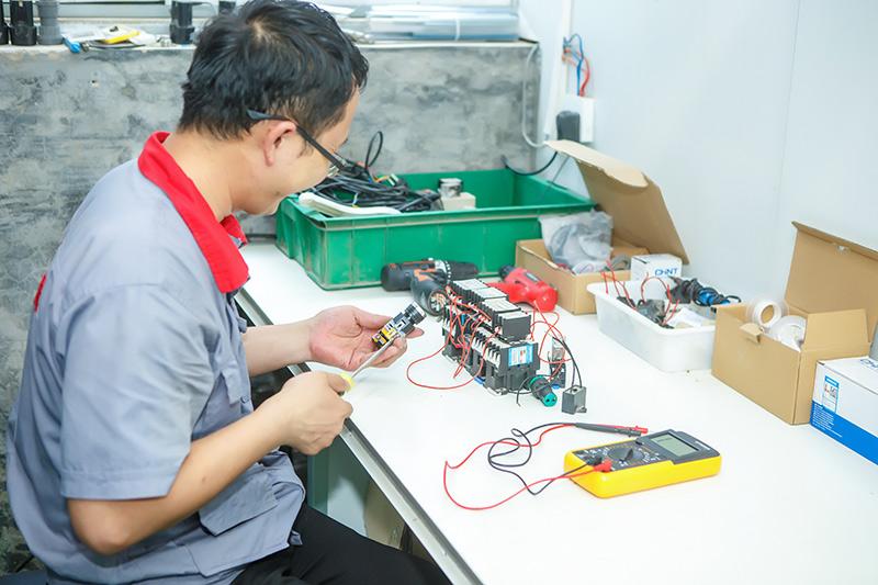 工厂电控配件测试