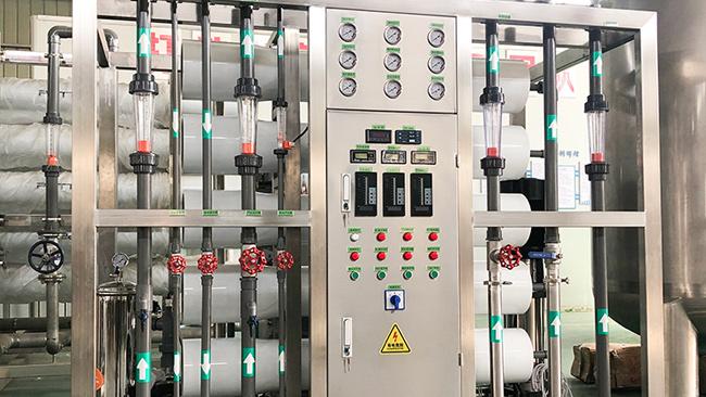 电子厂纯净水设备使用前需要注意什么问题