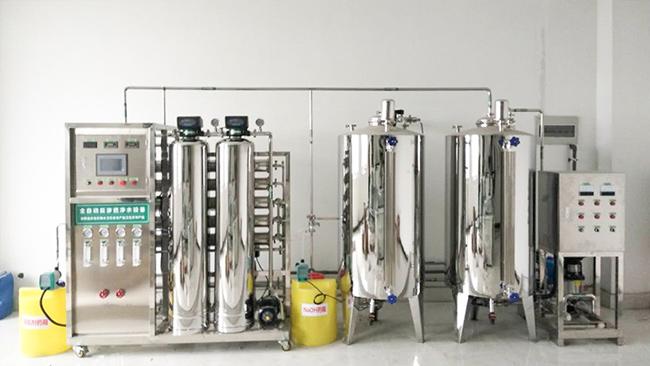 纯净水设备上的各部件有什么作用